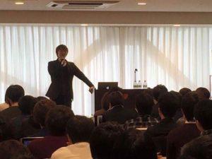 四方漱一講演会の写真